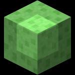 Блок слизи в Майнкрафте.