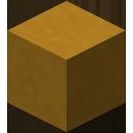 Жёлтая обожжённая глина в Майнкрафте.
