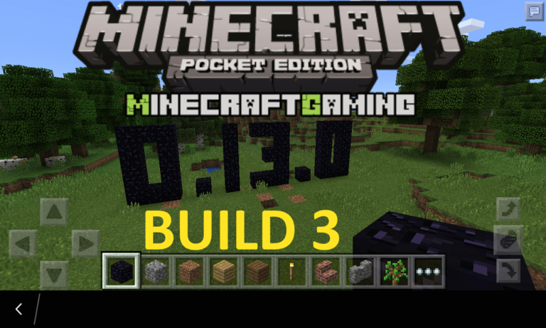 Minecraft Pocket Edition 0.13.0 build 3