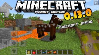 Minecraft Pocket Edition 0.13.0 build 1