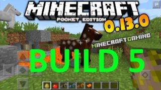 Minecraft Pocket Edition 0.13.0 | Build 5