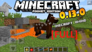 Minecraft Pocket Edition 0.13.0 | Full Release