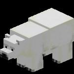 Белый медведь (англ. Polar Bear) — нейтральный моб, обитающие в холодных биомах.