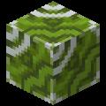 Зелёная глазурованная плитка в Майнкрафте.