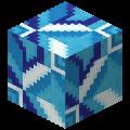 Светло-синяя глазурованная плитка в Майнкрафте.