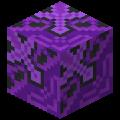 Фиолетовая глазурованная плитка в Майнкрафте.