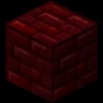 Красный адский кирпич в Майнкрафте.
